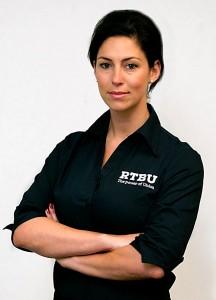 RTBU secretary Luba Grigorovitch. Photo via RTBU website.