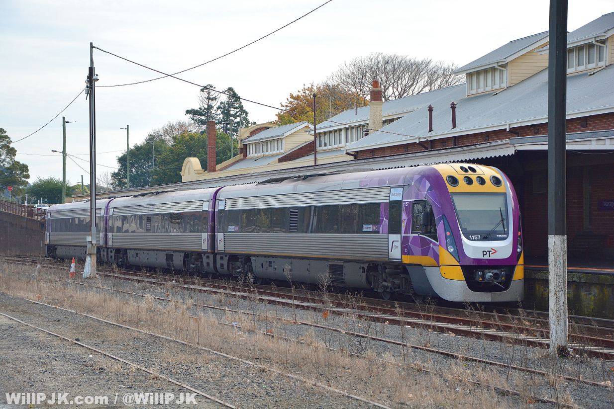 vlocity unit warragul station by william pj kulich not for use by railpage under any circumstances